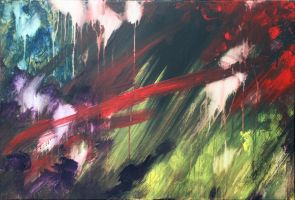 Gestural Abstraction #1 by SarahCascadden