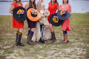my bridesmaids by CoWgIrLamerica