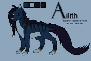 Ailith Reference 2013 by b24beanz