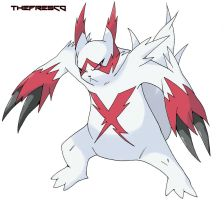 Mega Zangoose by TheFresco