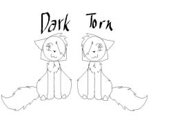 Dark and Torn- Request by cloudkit25