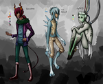 Character Design Adopts Batch 1 (CLOSED WOAH) by Deer-Head