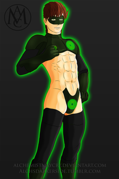 In Brightest Abs, In Blackest Night... by AlchemistMayCry