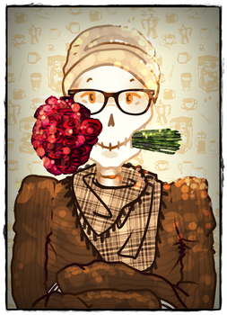Hipster Papster by Bunnie-Chi