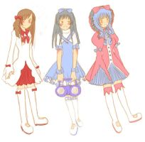 The Lolita Triplets by KimuM