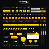 Black and Yellow - Web GUI by Creative-Noize
