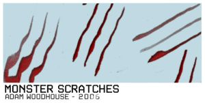Monster Scratches by ardcor