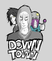 Down Town Trio by Zanith89