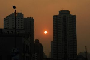 Shanghai sunset 1 by wildplaces