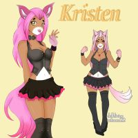 New OC Kristen by magicpotion