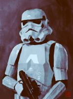 Stormtrooper by Julian-Faylona