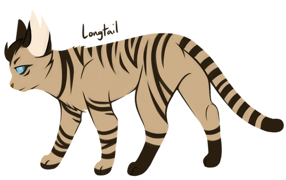 [100 WARRIOR CATS CHALLENGE] #29 - Longtail by toboe5tails