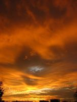 A Fiery Sky II by SarahJPhotography