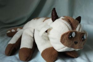Chibi Appa Plushie by wandering-dreamer