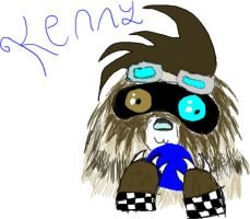 Kenny Zigzagoon form by impostergir007