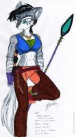 Lupe: Wolf P FF 2 - Colored by dragonheart07