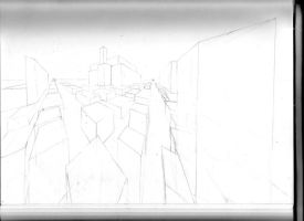 2 point perspective (pre-drawing) by PMMurphy