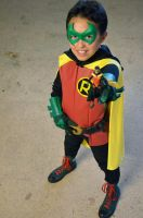 Lil Damian Wayne by FloresFabrications