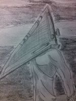 Old Works: Pyramid Head by Yukimaru-kun