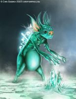 Goblin: Ice by chrispygraphics
