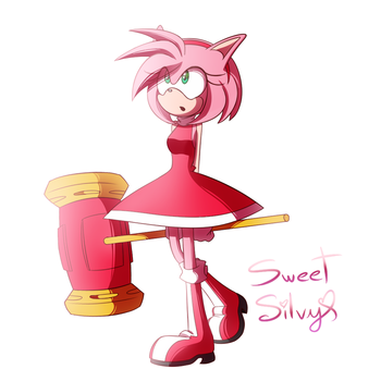 Amy Rose - Project by SweetSilvy