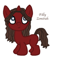 Zemirah, A Request for K2Pony by InkRose98