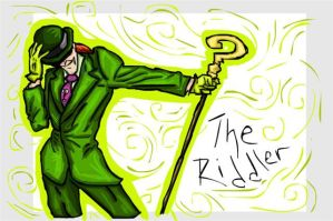 Riddle Me This - Doodles by KatVonB