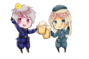 Point Commission : No. 1 Beer by Putobingka