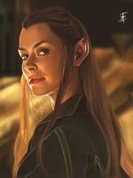 Tauriel - The Hobbit by TheSig86