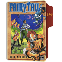 Fairy Tail Tome 4 Folder by sostomate9