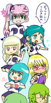 Galaxy Team Chibi -COLLAB COMPLETE- by Noki-San
