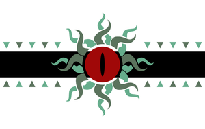Flags of Touhou: Utsuho Reiuji by GreatPaperWolf