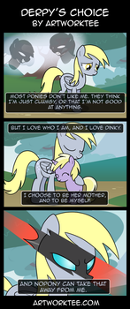 Derpy's Choice by artwork-tee
