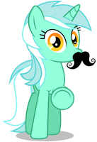 Lyra - Mustache You Something by CaliAzian
