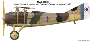 French 'Whites' SPAD 13 by Jeremak-J