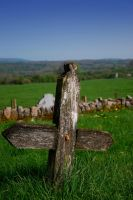 Wooden Cross of Kilfane by Demonoftheheavens