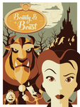 Beauty and the Beast by UniqSchweick12