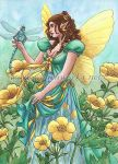 Buttercup Fairy by Wenchworks