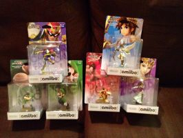 Amiibo Figure Characters 2 by extraphotos