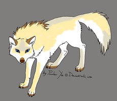 awesome wolf character adoptable - CLOSED! by StanHoneyThief