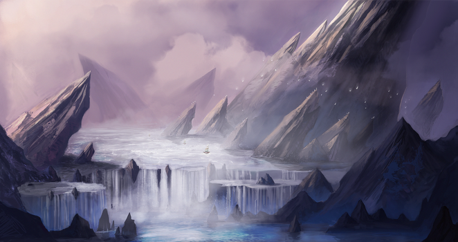 Environment Tutorial Painting by k04sk