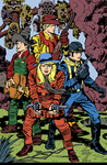 Jack Kirby BOYS' RANCH Inked and Colored by LeevanCleefIII