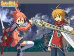 Summon Night 2 bg by syang70
