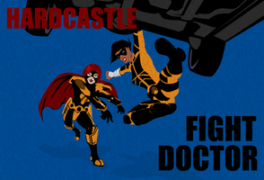 Hardcastle and Fight Doctor by Agent-Foo