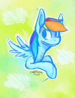 Rainbow Dash by Fractality