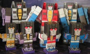 Some Decepticons by aim11