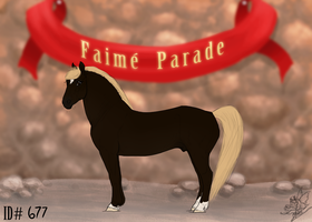 Faime Import 677 by bedfordblack