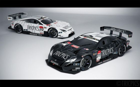 SuperGT GT500 LF-A 2007 Concept 1 by The-IC