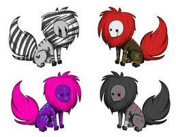 Creature Adopts {CLOSED} by TechSupportGirls
