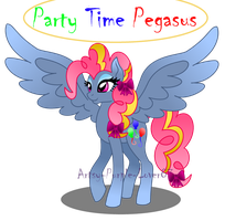 Party Time Crystal Pony by Artsy-Purple-Lover87